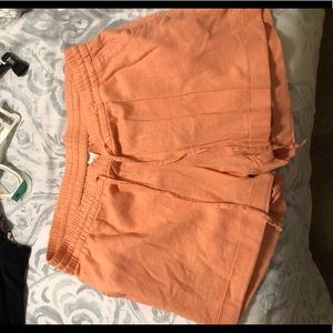 Old Navy Pink Flowy Shorts